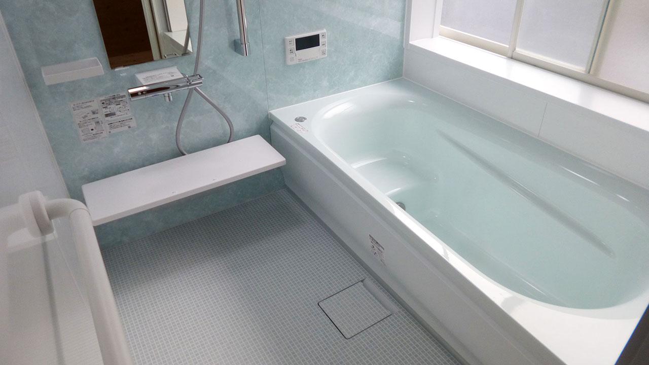浴室リフォーム&給湯器交換